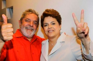 En campaña Lula da Silva y Dilma Roussef. Cortesía: Reuters