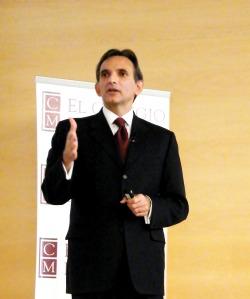 Carlos Pascual, embajador de EUA en México. Foto: Ivanna Rodríguez.