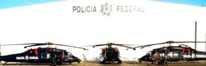 Helicopteros Black Hawk. Cortesia: Secretaria de Seguridad Publica