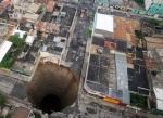 Enorme agujero en Guatemala